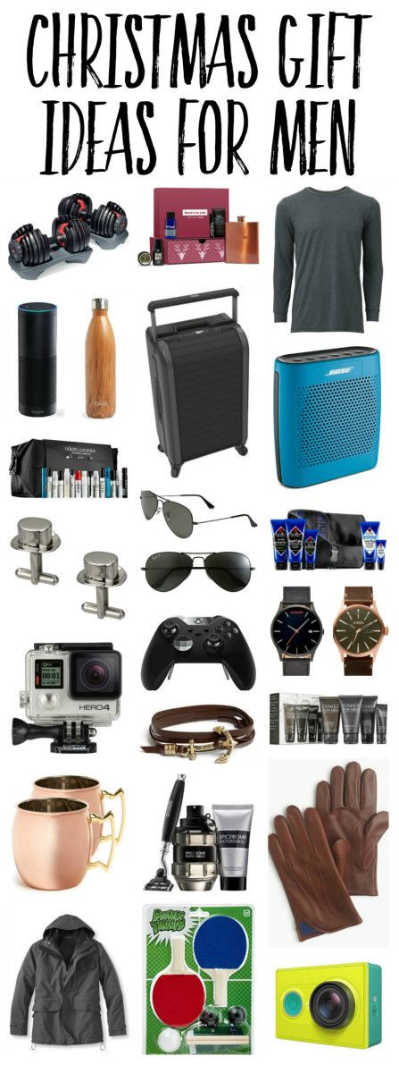 Mens Christmas Gift Ideas  Best 25 Gifts ideas for men ideas on Pinterest