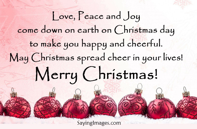 Merry Christmas Quotes  Merry Christmas Quotes &