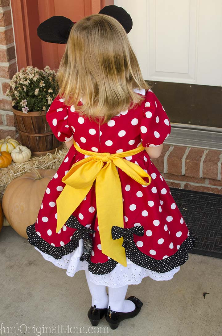Minnie Mouse DIY Costume  The Perfect DIY Minnie Mouse Costume unOriginal Mom