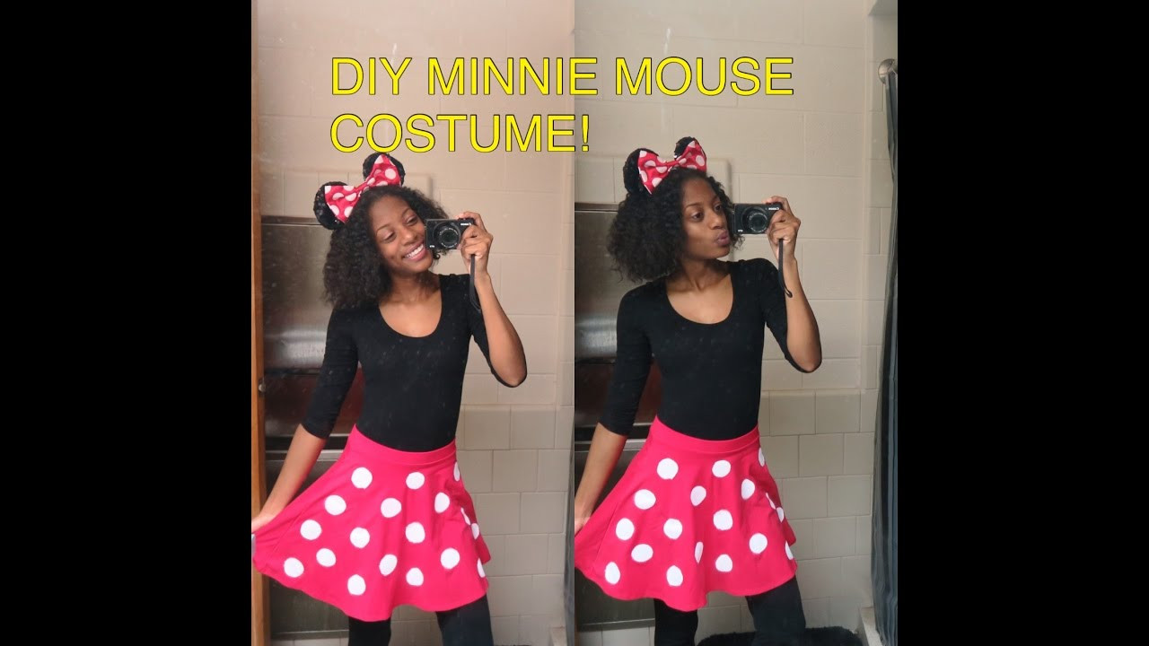 Minnie Mouse DIY Costume  DIY MINNIE MOUSE SKIRT Halloween Costume UNDER $20