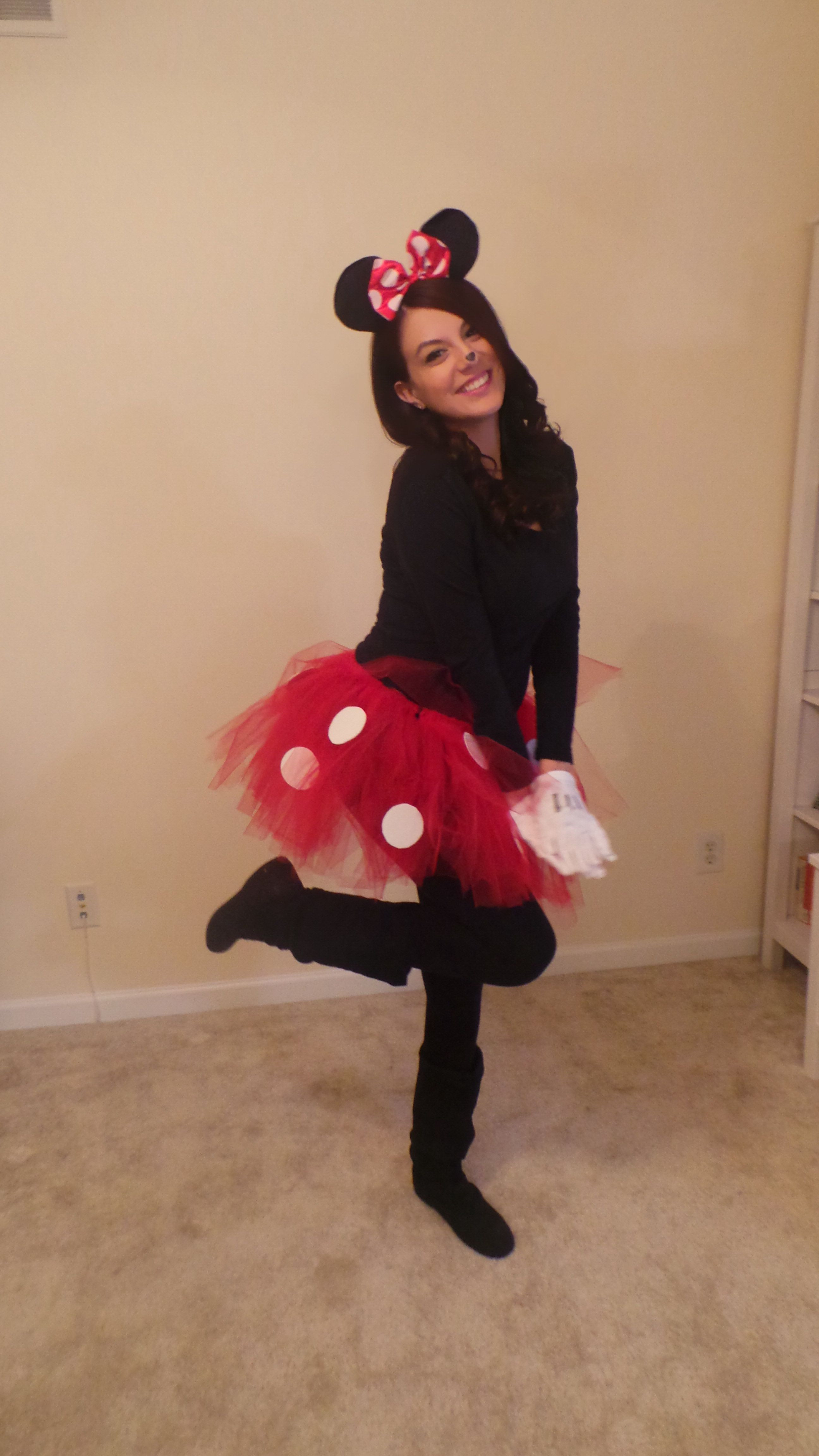 Minnie Mouse DIY Costume  DIY Minnie Mouse costume My style Pinterest