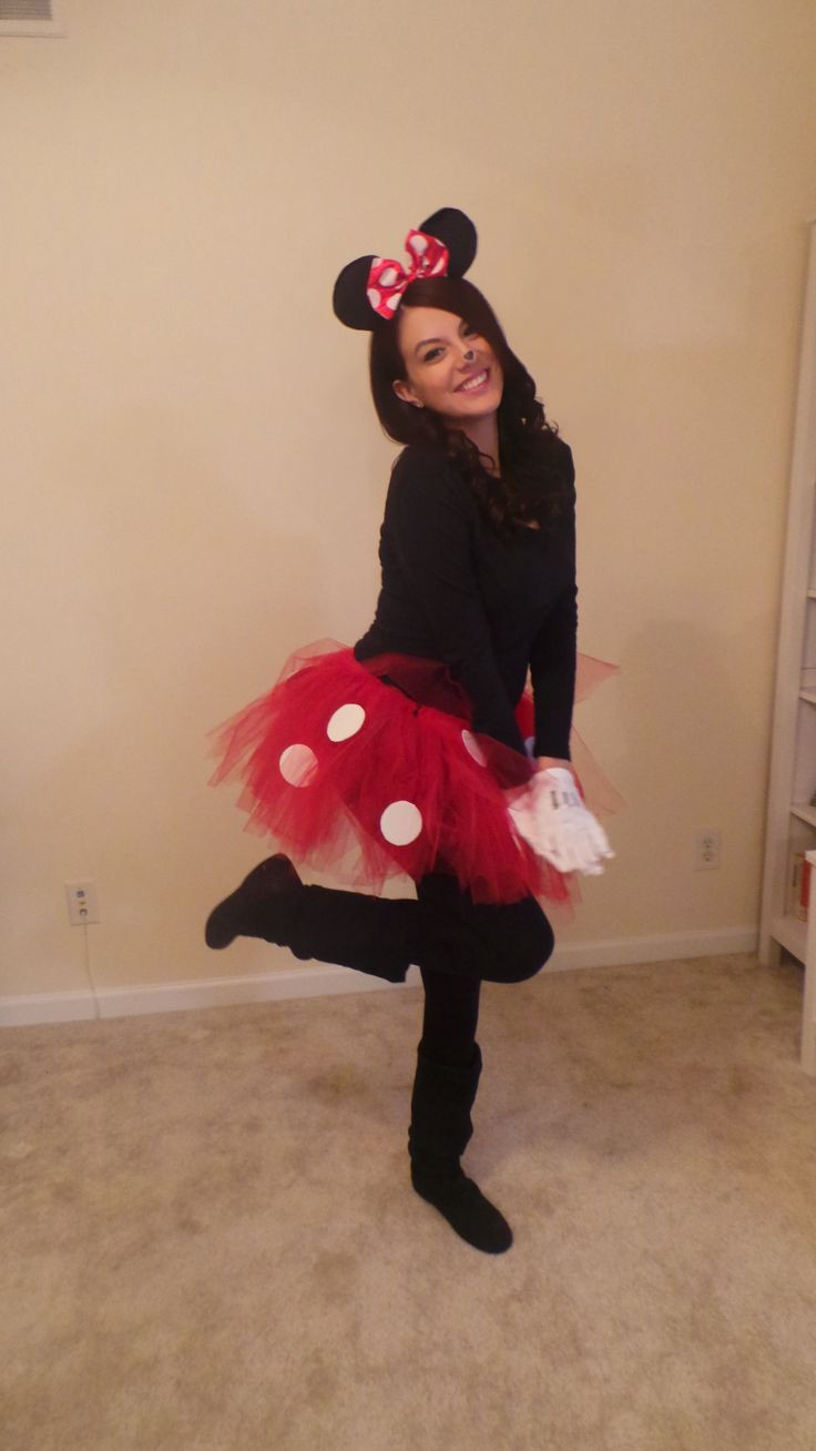 Minnie Mouse DIY Costume  DIY Minnie Mouse costume minnie mouse