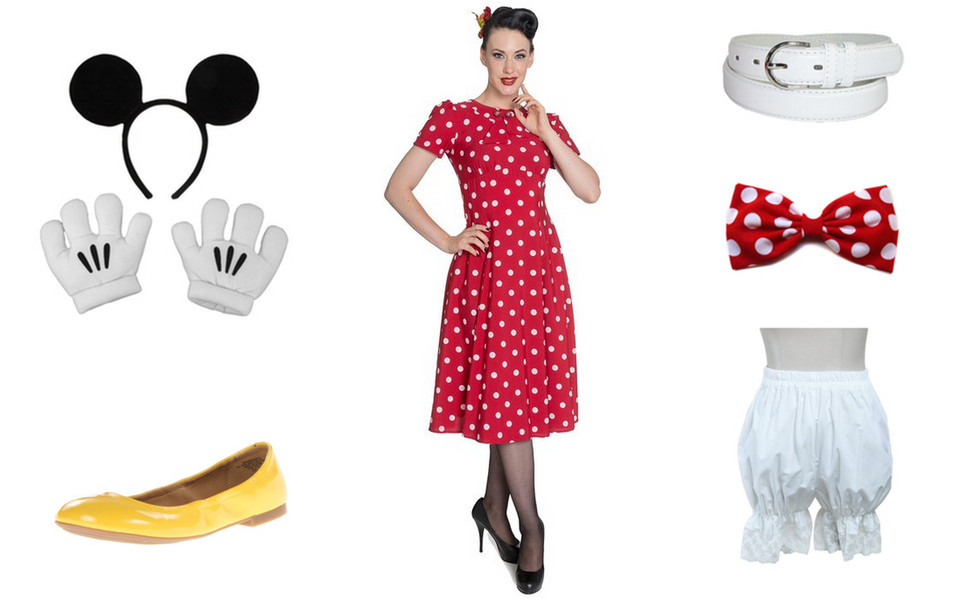 Minnie Mouse DIY Costume  Minnie Mouse Costume
