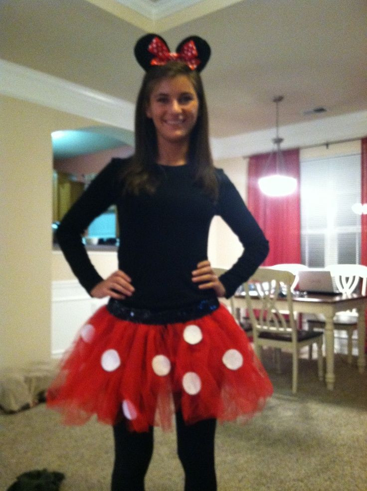 Minnie Mouse DIY Costume  DIY Minnie Mouse Costume Adults