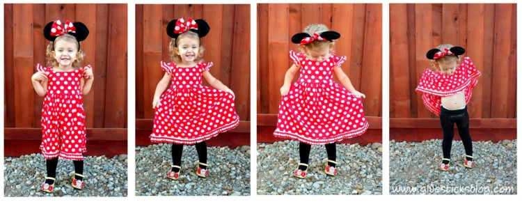 Minnie Mouse DIY Costume  DIY Minnie Mouse Costume for Playtime or Halloween