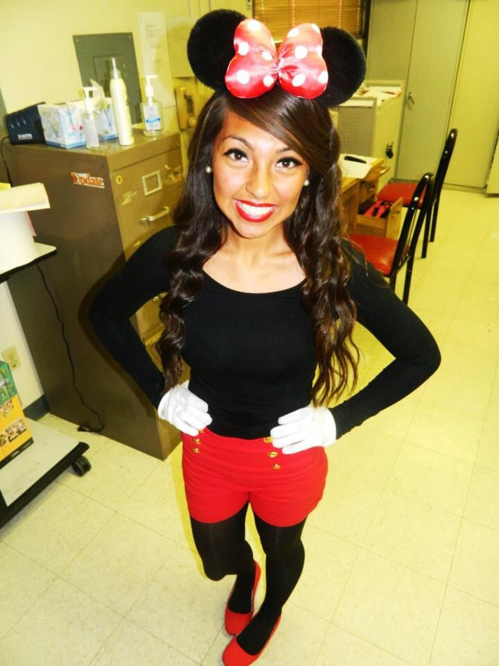 Minnie Mouse DIY Costume  Cute DIY Minnie Mouse costume