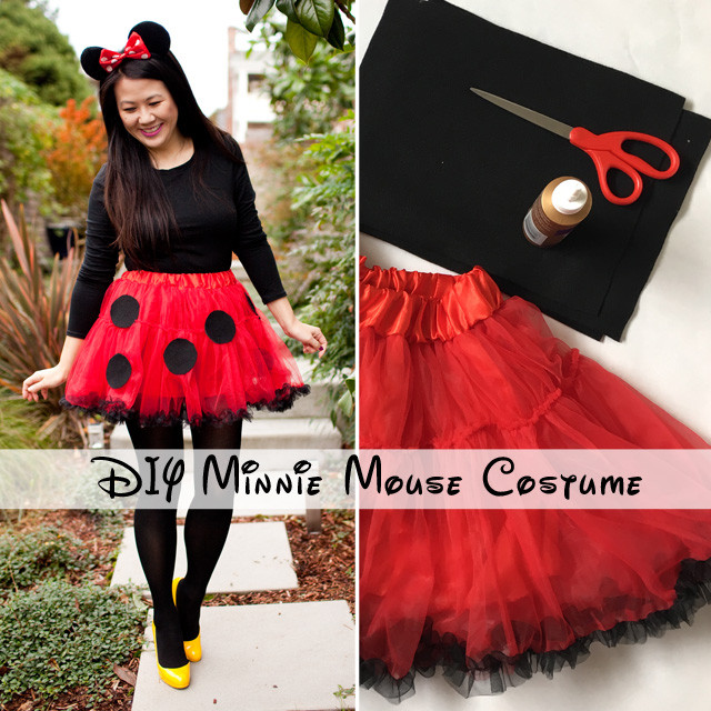 Minnie Mouse DIY Costume  DIY Minnie Mouse Costume