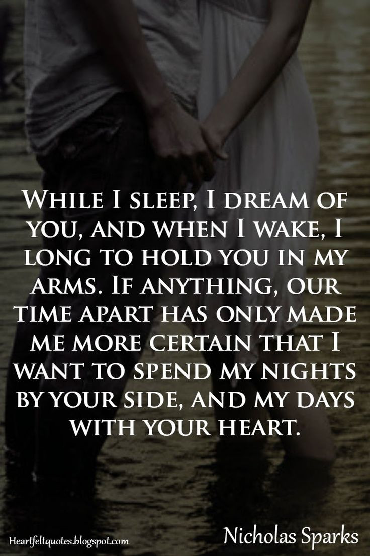 Most Romantic Quotes For Her  Love Quotes For Him & For Her Nicholas Sparks Romantic