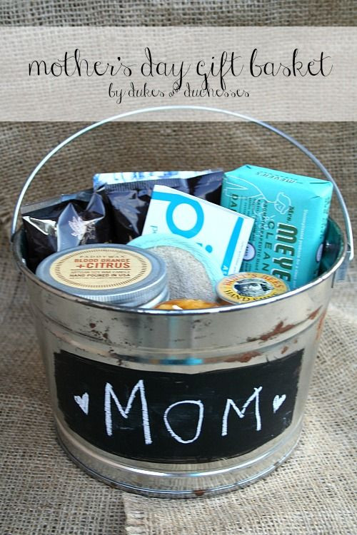 Mothers Day Gift Basket Ideas  25 Handmade Mother s Day Gift Ideas