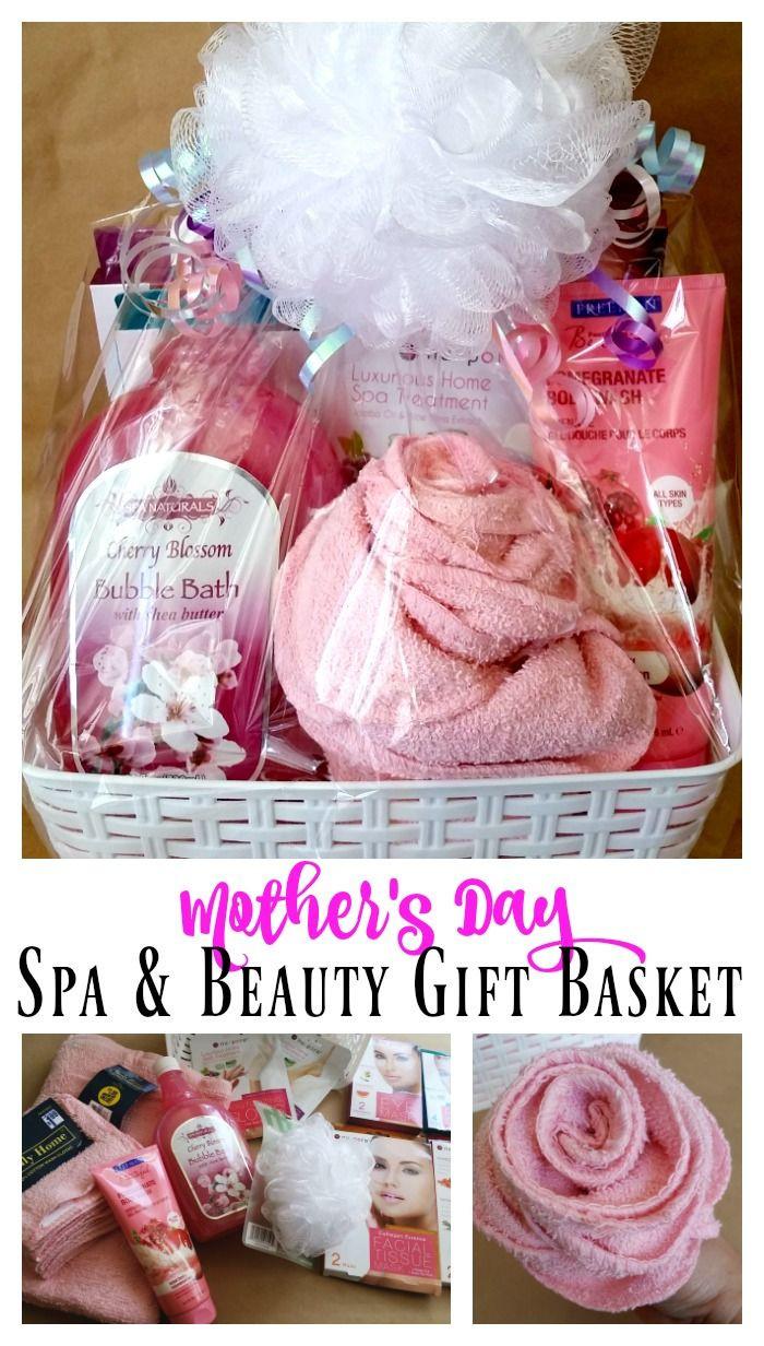 Mothers Day Gift Basket Ideas  25 unique Spa basket ideas on Pinterest