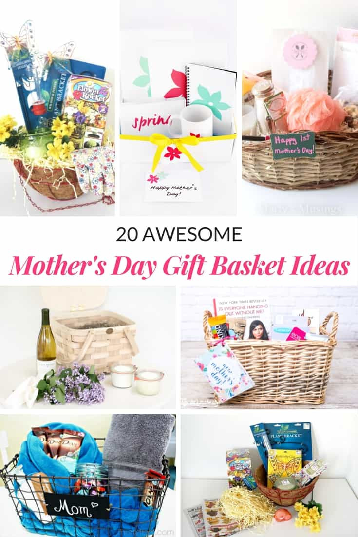 Mothers Day Gift Basket Ideas  AWESOME MOTHER S DAY GIFT BASKET IDEAS