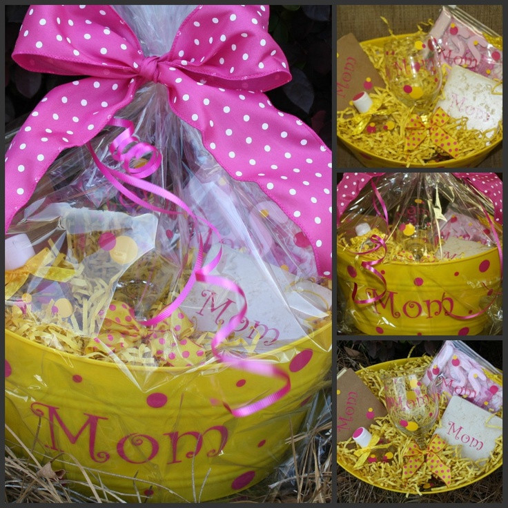 Mothers Day Gift Basket Ideas  7 best Mother s Day Gift Baskets images on Pinterest