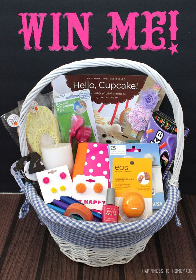 Mothers Day Gift Basket Ideas  Mother s Day Gift Basket and $25 Visa Gift Card Giveaway