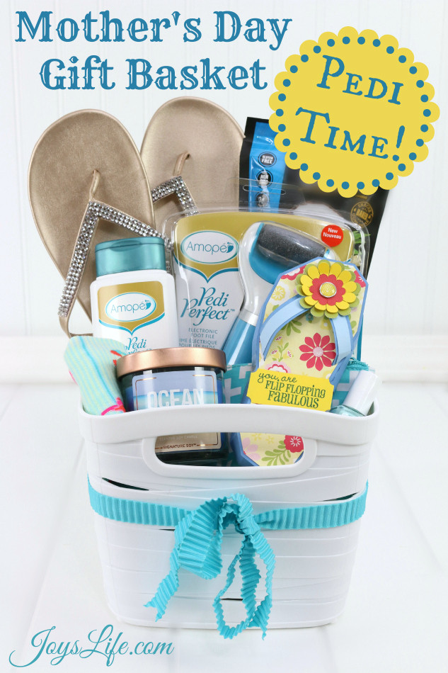 Mothers Day Gift Basket Ideas  Mother s Day Pedicure Gift Basket Ideas