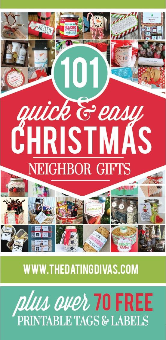 Neighbors Gift Ideas For Christmas  101 Quick and Easy Christmas Neighbor Gifts