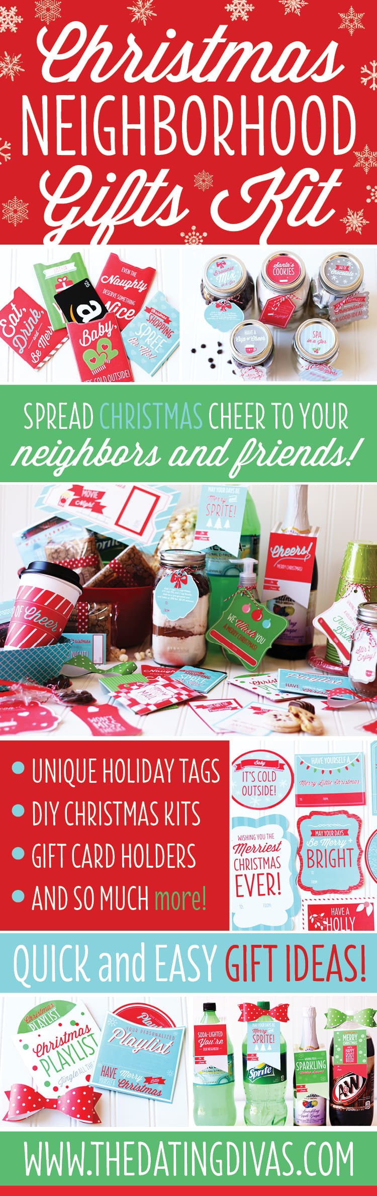 Neighbors Gift Ideas For Christmas  Christmas Neighbor Gift Ideas Pack