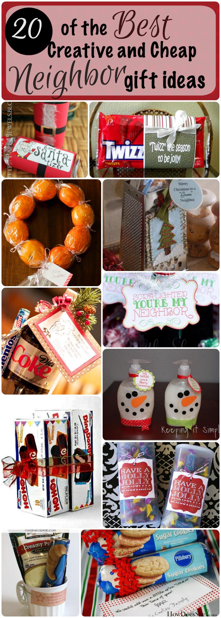 Neighbors Gift Ideas For Christmas  20 of the Best Creative and Cheap Neighbor Gifts for Christmas
