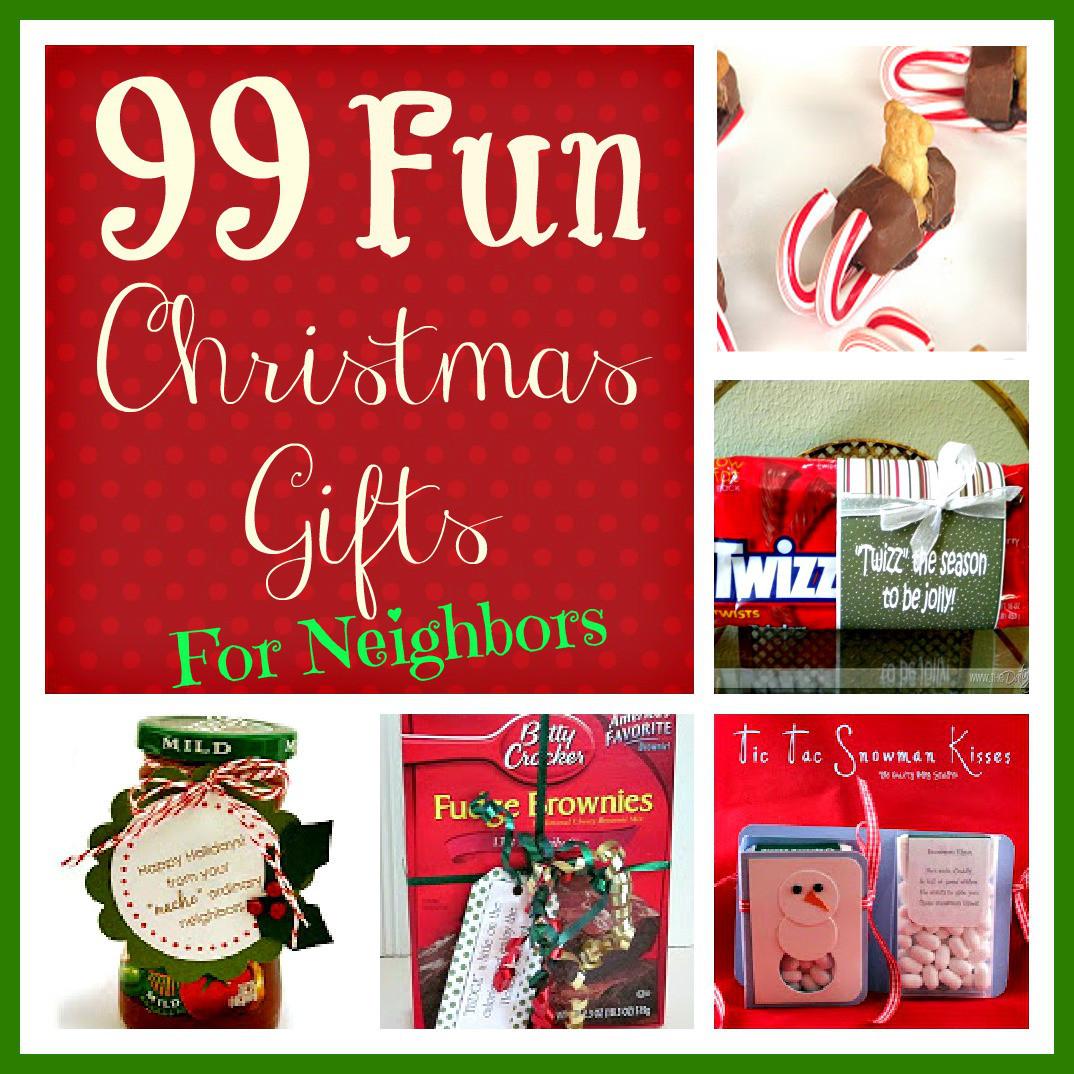 Neighbors Gift Ideas For Christmas  99 Fun Christmas Gifts for Neighbors