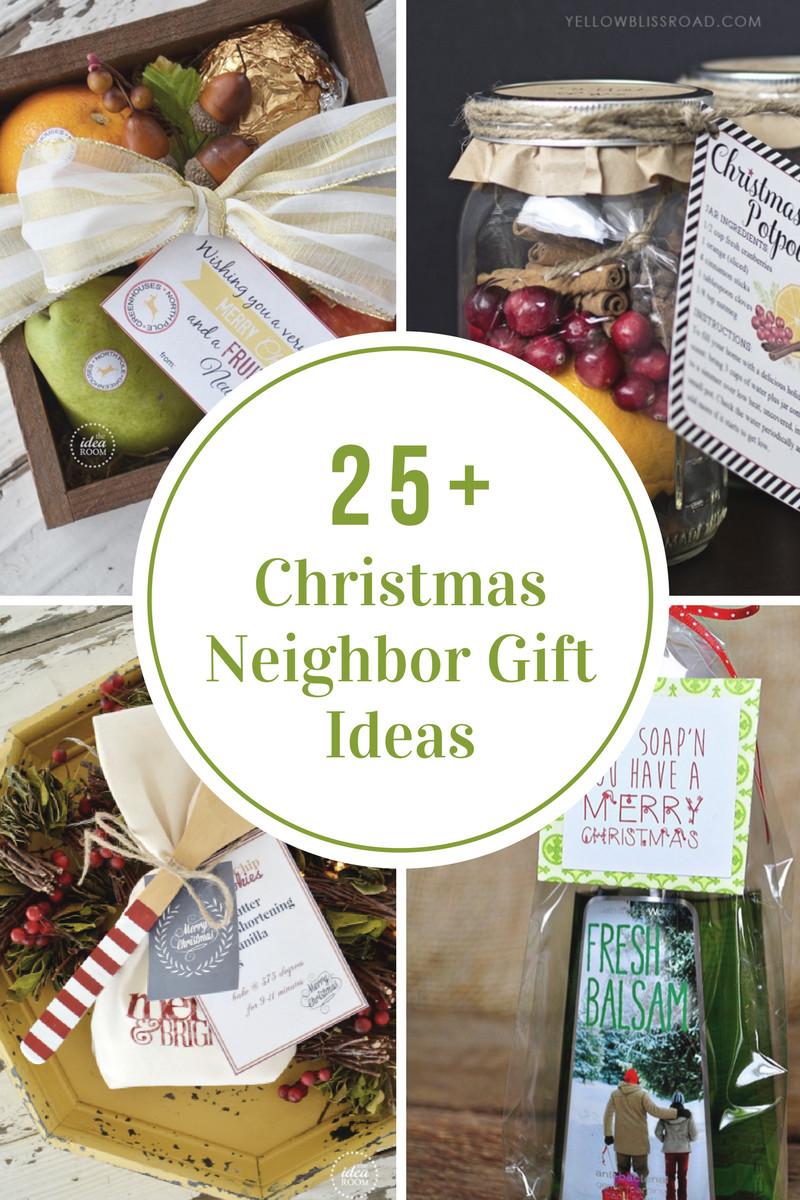 Neighbors Gift Ideas For Christmas  Christmas Neighbor Gift Ideas The Idea Room