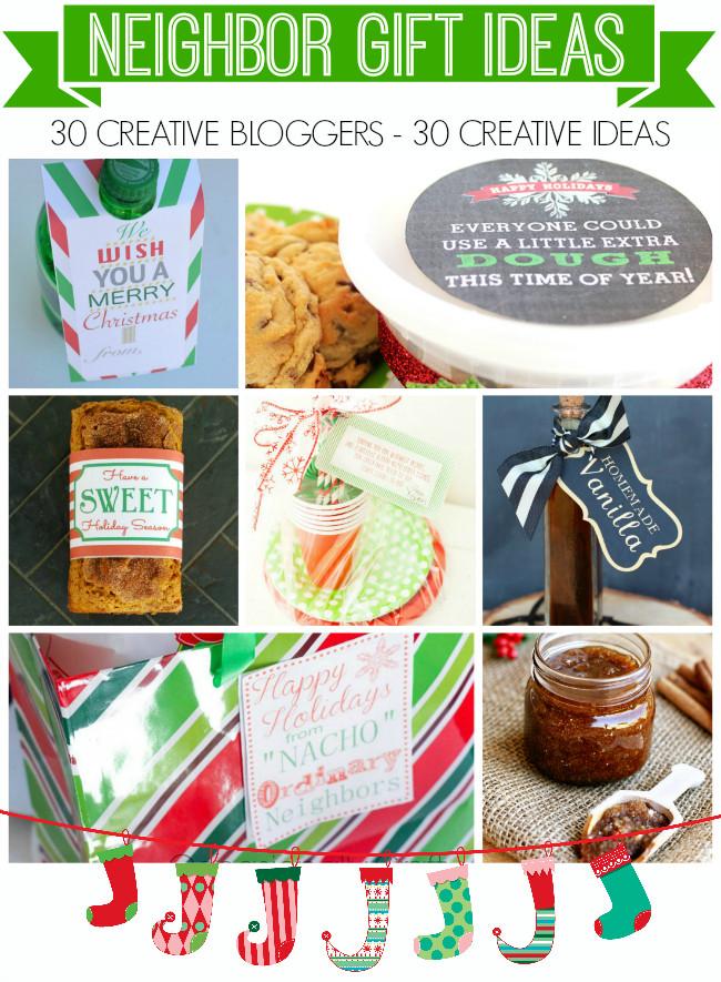 Neighbors Gift Ideas For Christmas  Printable Cookie Dough Holiday Gift Tag Neighbor Gifts