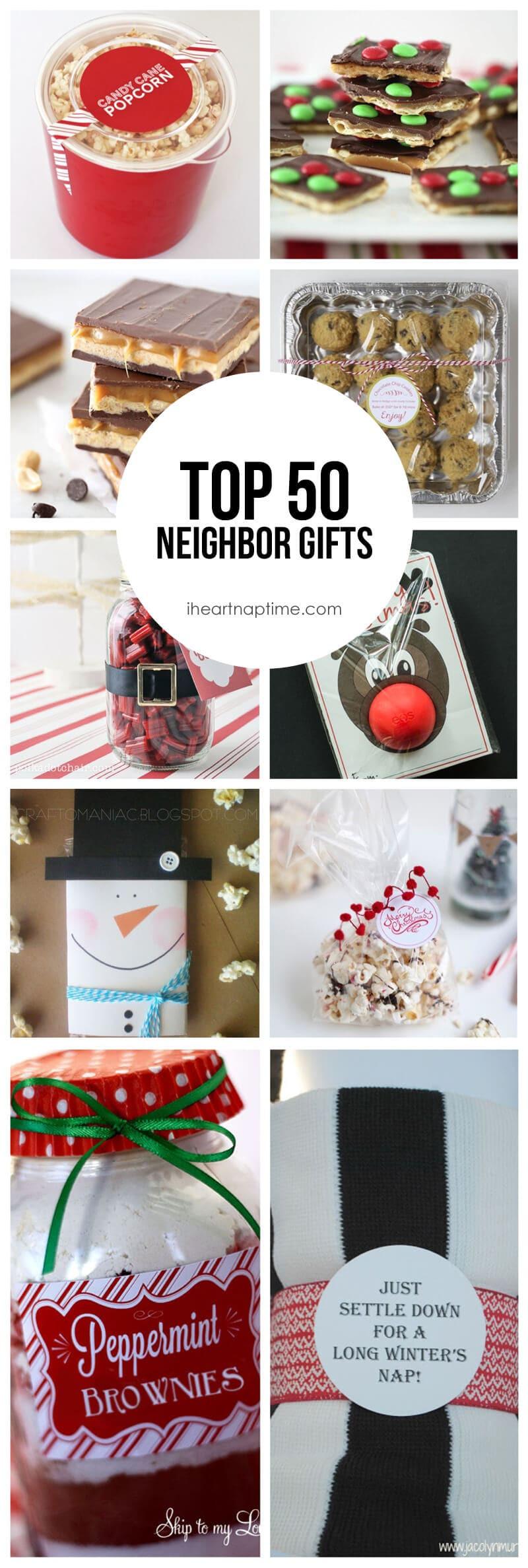 Neighbors Gift Ideas For Christmas  Top 50 Neighbor Gift Ideas I Heart Nap Time