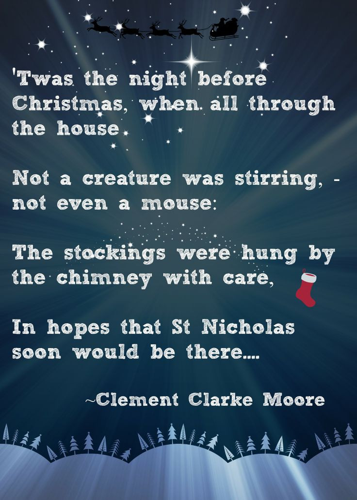 Night Before Christmas Quotes  Christmas Advent Calendar Quotes QuotesGram