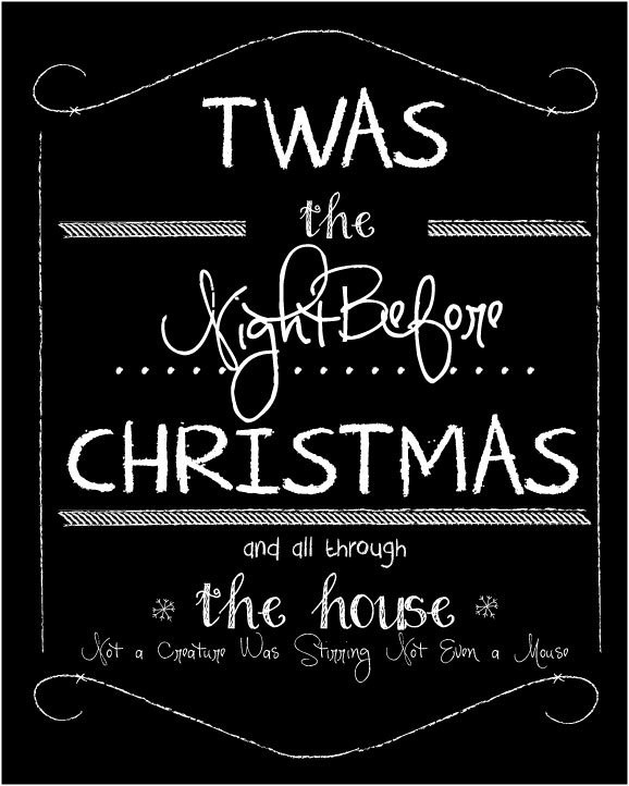 Night Before Christmas Quotes  25 unique Christmas eve quotes ideas on Pinterest
