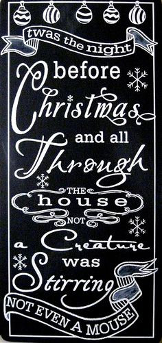 Night Before Christmas Quotes  1000 images about Twas the night before Christmas on