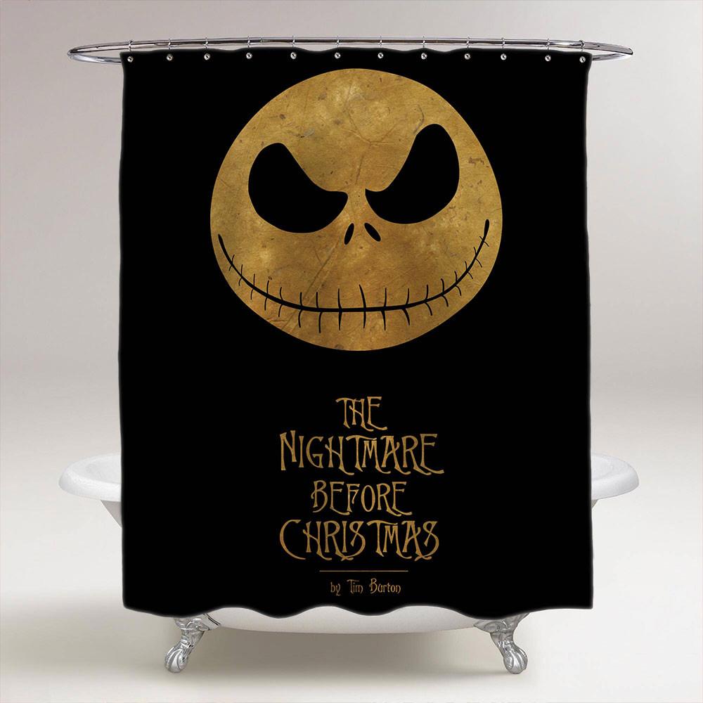 Nightmare Before Christmas Bathroom  Halloween The Nightmare Before Christmas Bathroom Shower