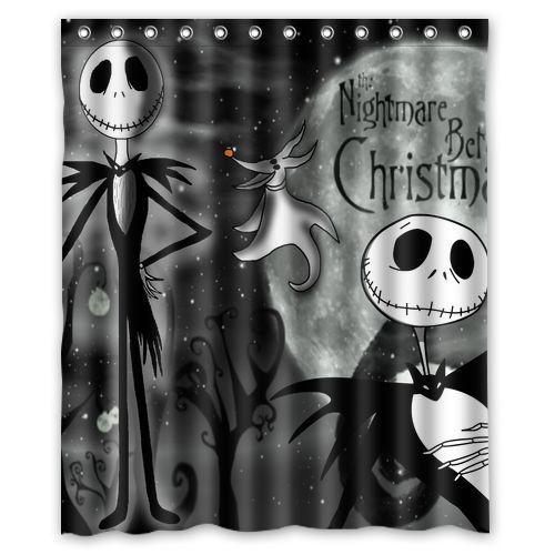 Nightmare Before Christmas Bathroom  New Bathroom Nightmare Before Christmas Waterproof Shower