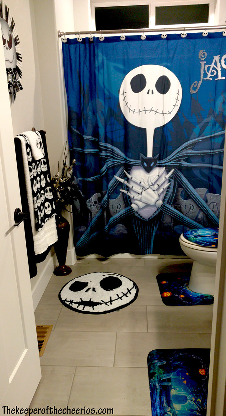 Nightmare Before Christmas Bathroom  Nightmare Before Christmas Bathroom The Keeper of the