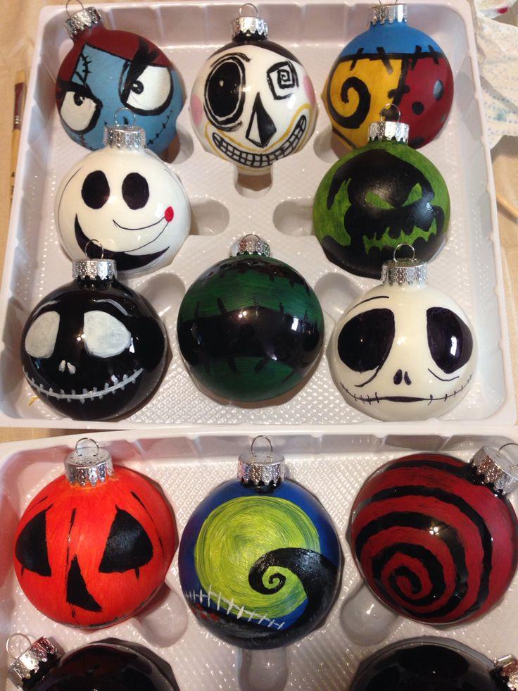 Nightmare Before Christmas Decorations DIY  Best 25 Nightmare before christmas ornaments ideas on