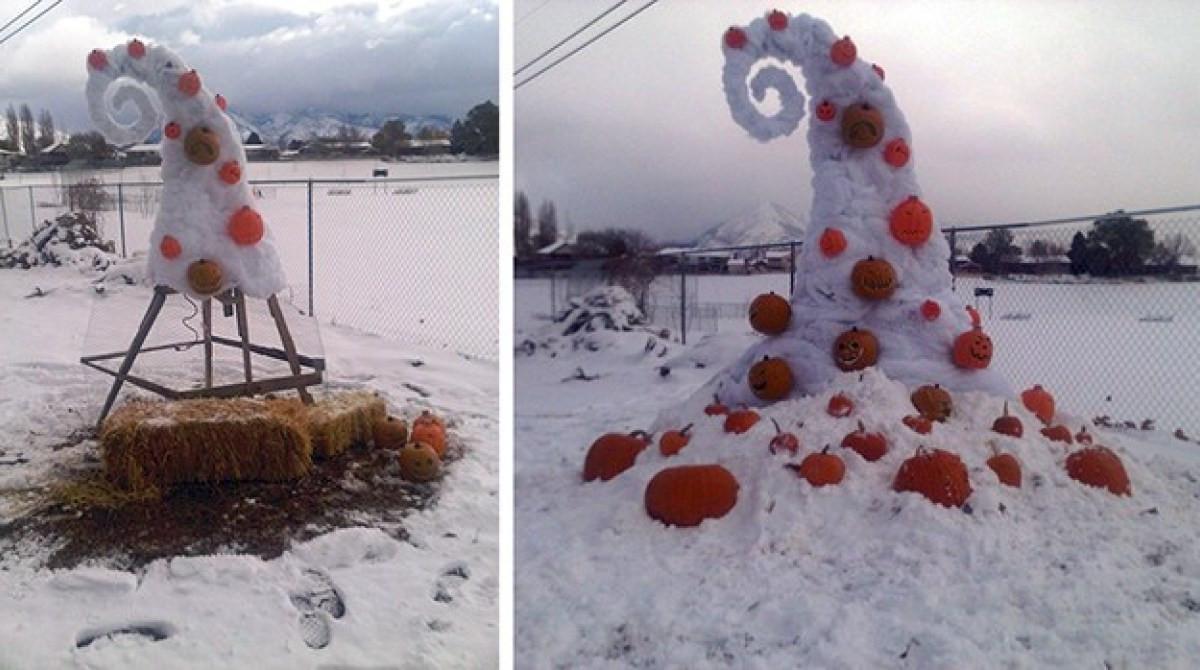 "Nightmare Before Christmas Decorations DIY  ""Nightmare Before Christmas"" Yard Decor"