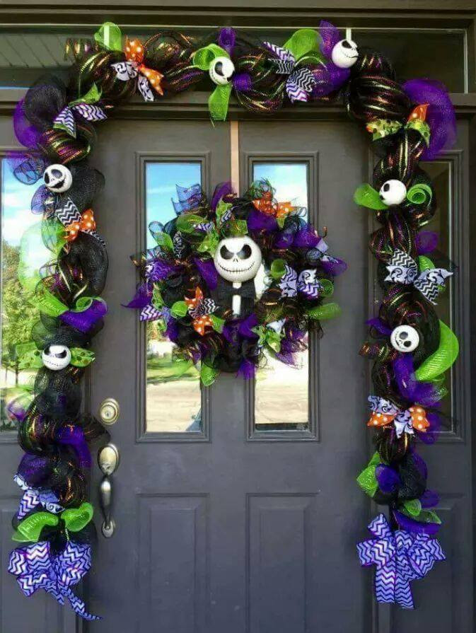 Nightmare Before Christmas Decorations DIY  40 Homemade Halloween Decorations Kitchen Fun With My