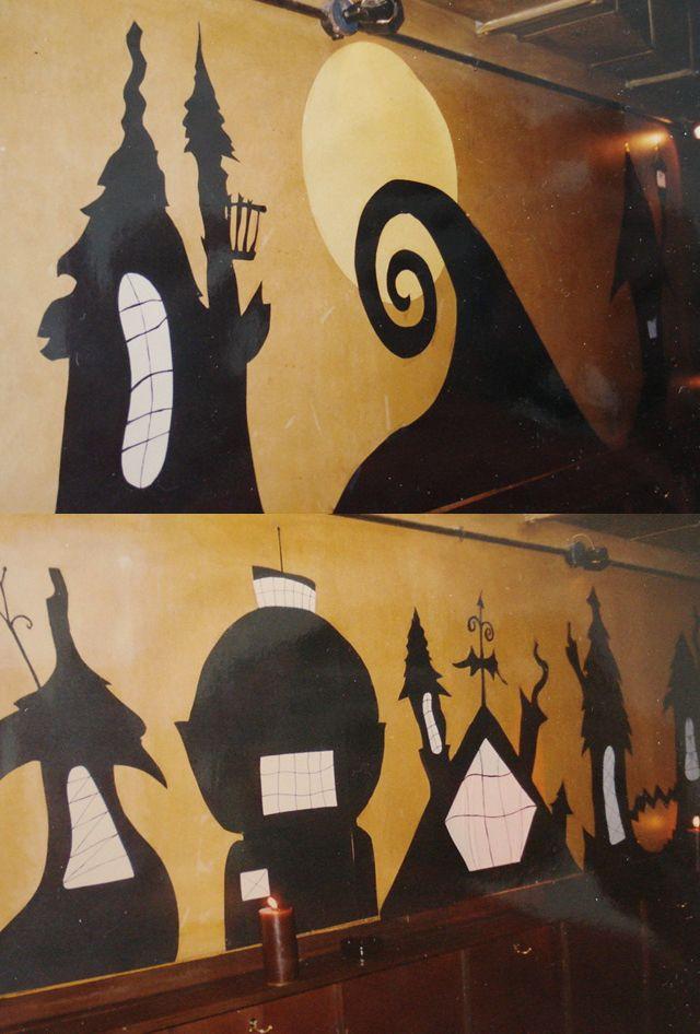 Nightmare Before Christmas Decorations DIY  DIY Nightmare Before Christmas wall decals You CAN do