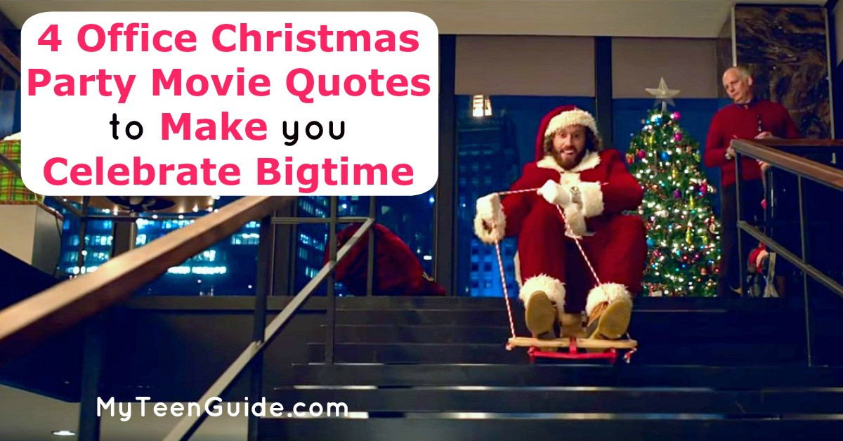 Office Christmas Party Quotes  4 fice Christmas Party Movie Quotes To Make You Celebrate