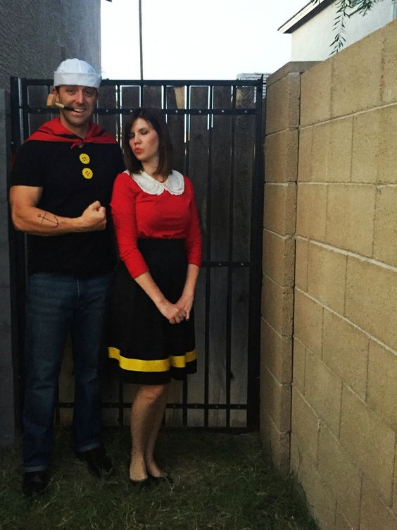 Olive Oyl Costume DIY  Popeye and olive Olives and Costumes on Pinterest
