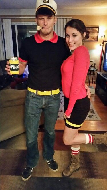 Olive Oyl Costume DIY  378 best images about halloween on Pinterest