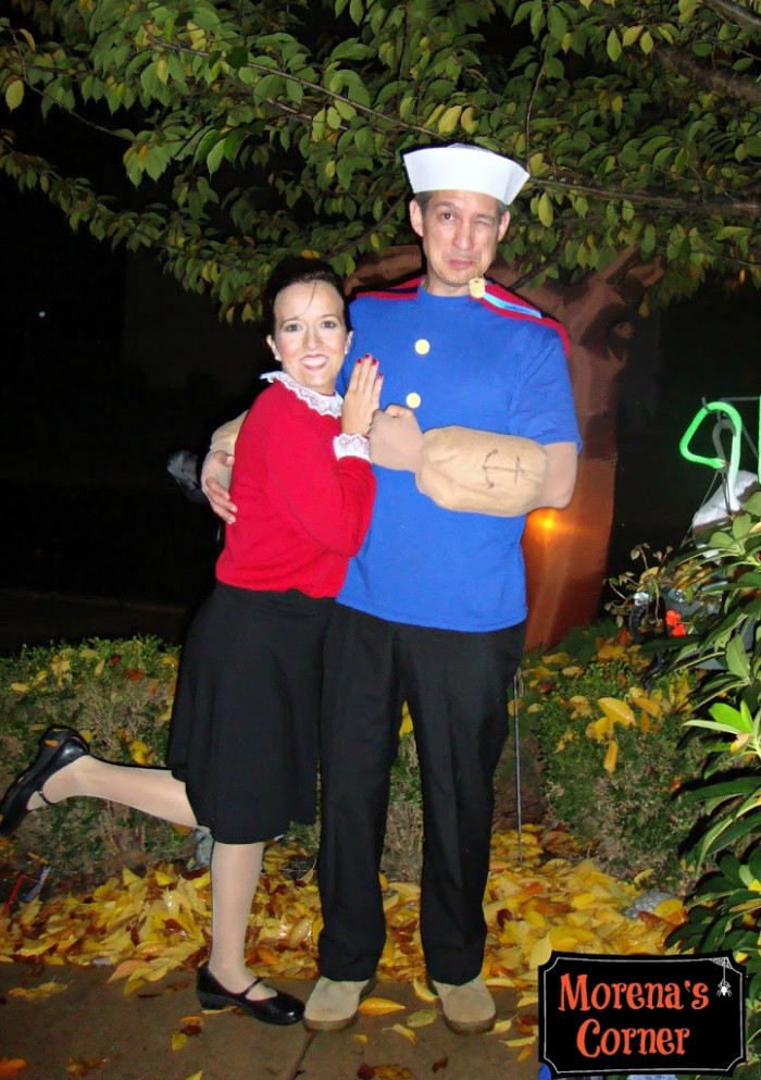 Olive Oyl Costume DIY  DIY Halloween Costumes 20 Creative Ideas
