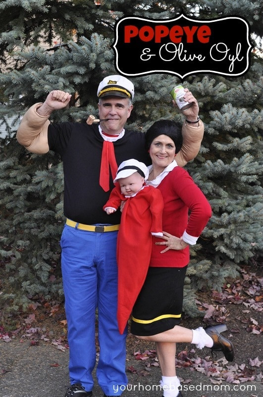 Olive Oyl Costume DIY  Popeye & Olive Oyl your homebased mom