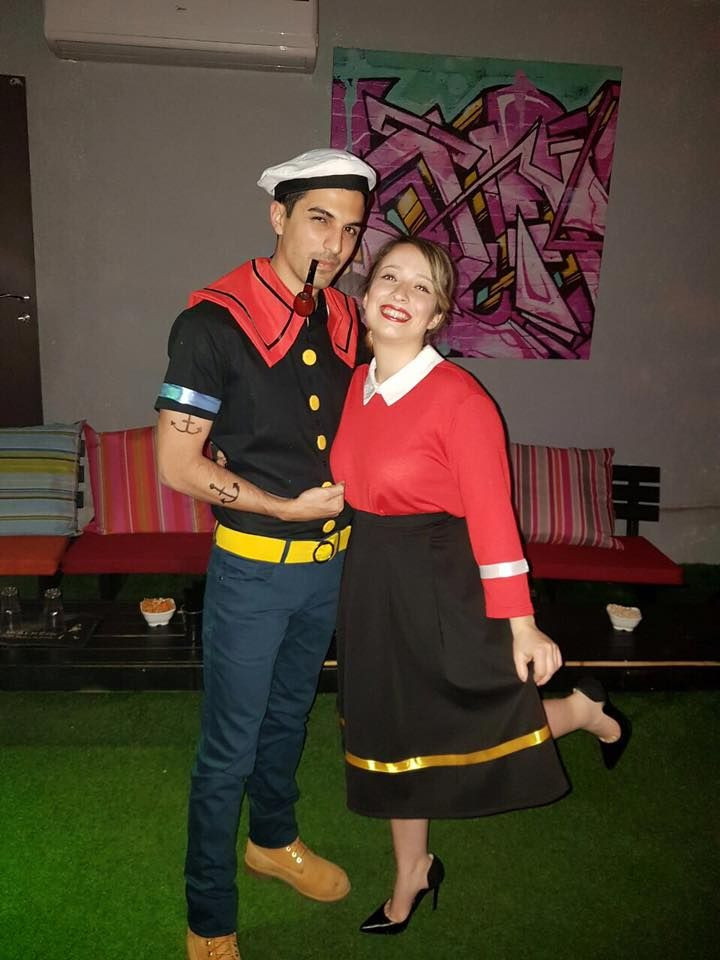 Olive Oyl Costume DIY  popeye and olive costume Costume in 2019