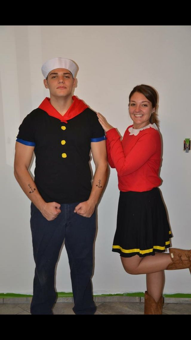 Olive Oyl Costume DIY  1000 ideas about Popeye Costume on Pinterest