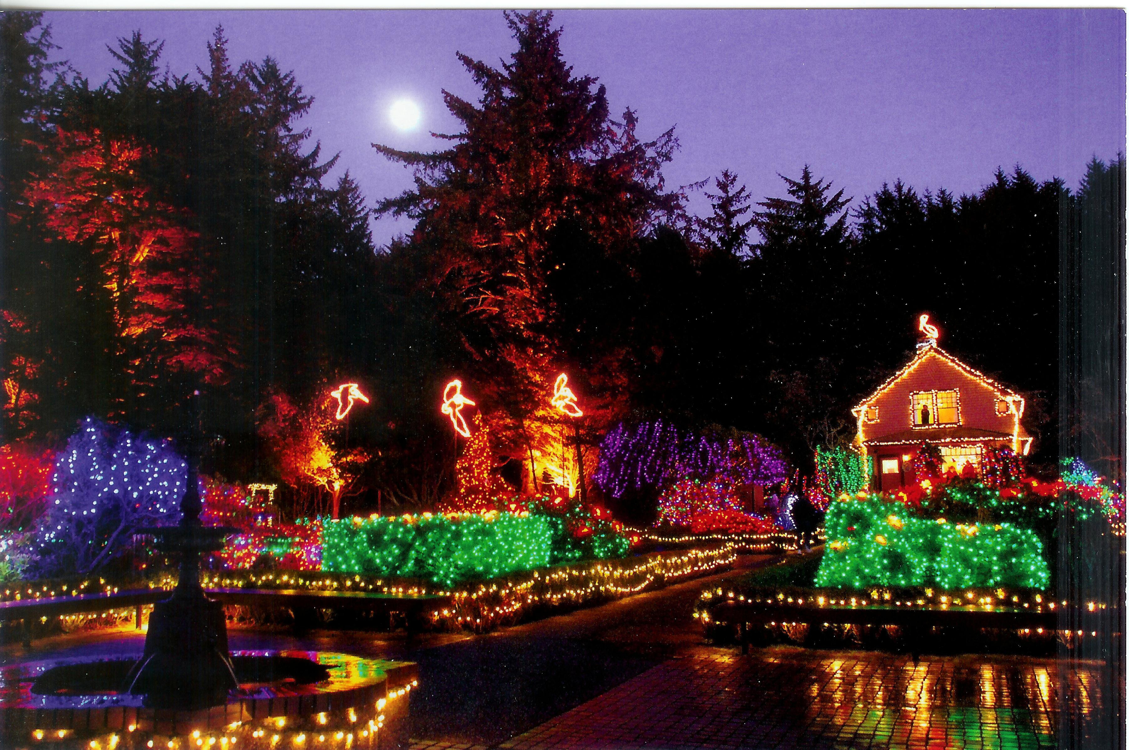 Oregon Garden Christmas  USA – Oregon Remembering Letters and Postcards