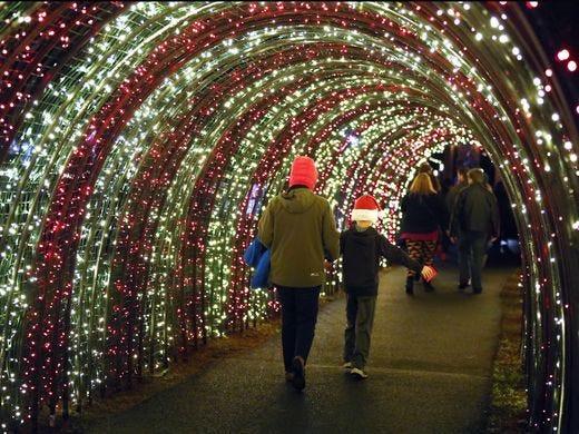 Oregon Garden Christmas  Christmas in the Garden opens in Silverton