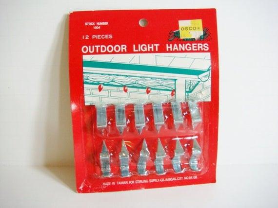 Outdoor Christmas Light Clips  Metal Outdoor Christmas Light Hangers Roof Christmas Light