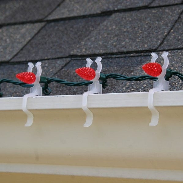 Outdoor Christmas Light Clips  2019 Best of Hanging Outdoor Christmas Lights Hooks