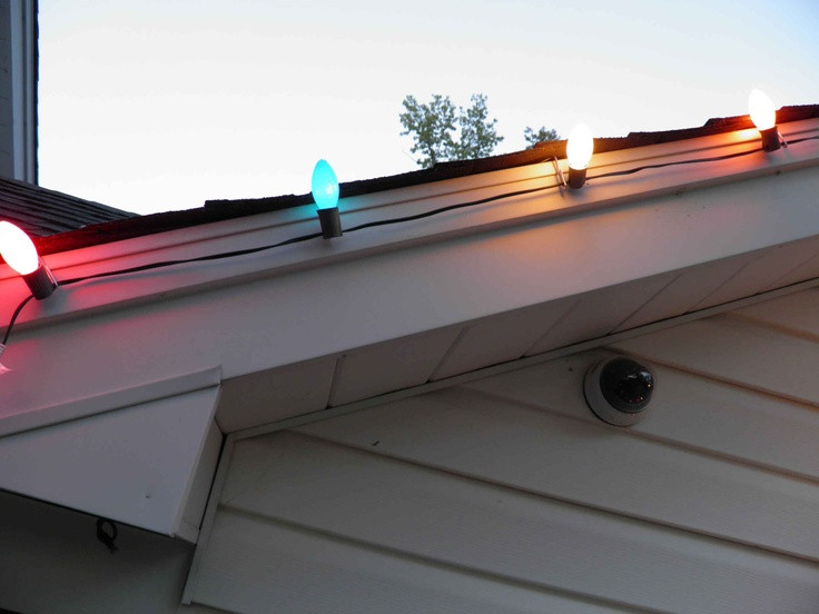 Outdoor Christmas Light Clips  484 best Outdoor Christmas Decorations images on Pinterest