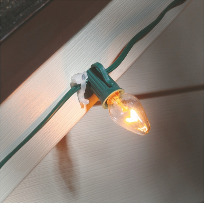 Outdoor Christmas Light Clips  Nail on clips Christmas outdoor light clips Suction Cups