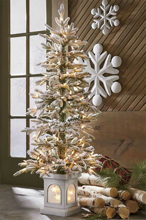 Outdoor Christmas Tree Ideas  Outdoor Christmas Decorating Ideas