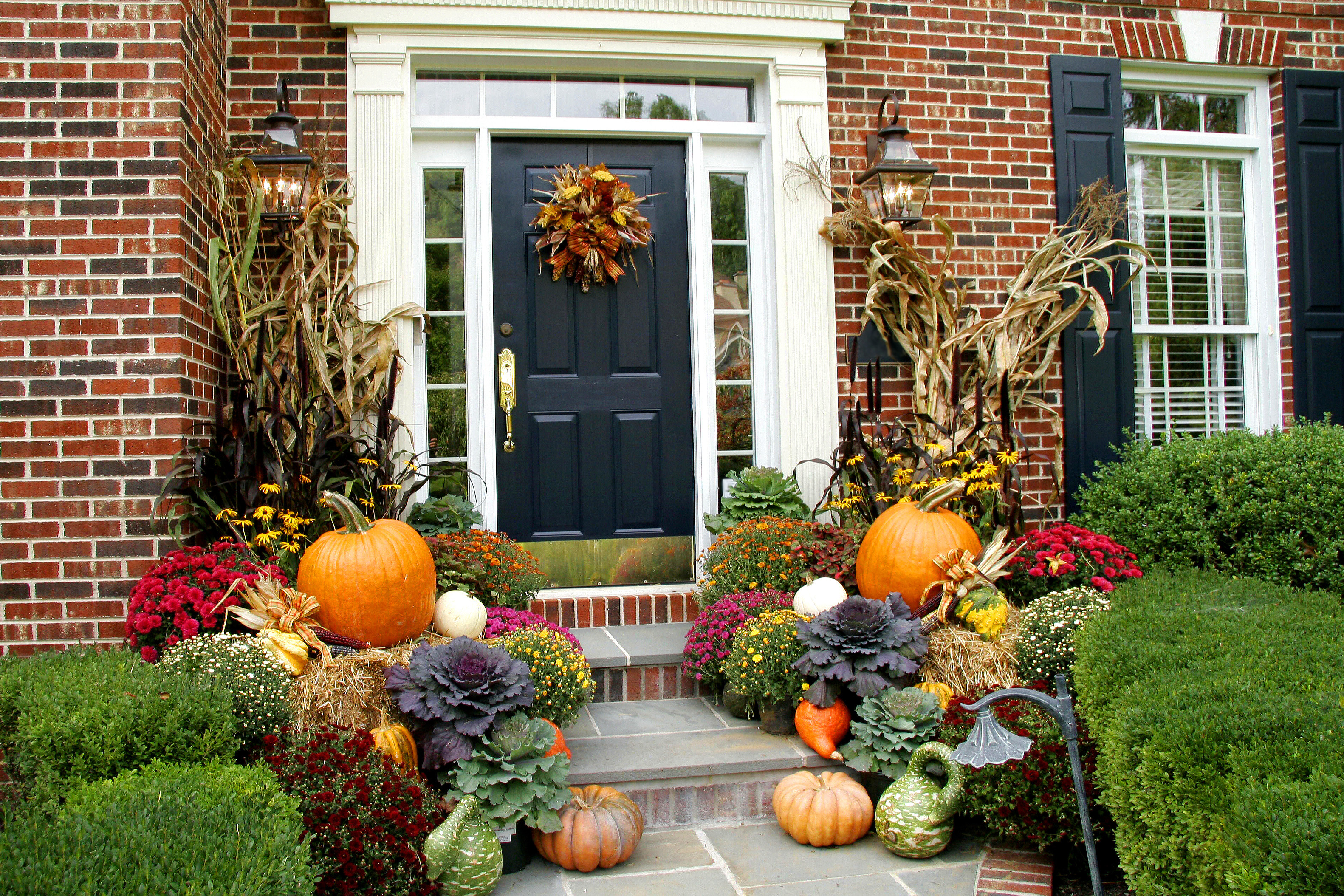 Outdoor Fall Decorations  fall decorating ideas Archives Lombardo Homes